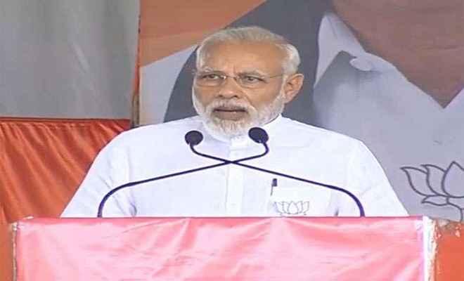 कांग्रेस ने 70 सालों तक किसानों की अनदेखी की : प्रधानमंत्री
