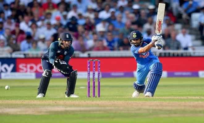इंग्लैंड को भारत से मिला 257 रनों का आसान लक्ष्य