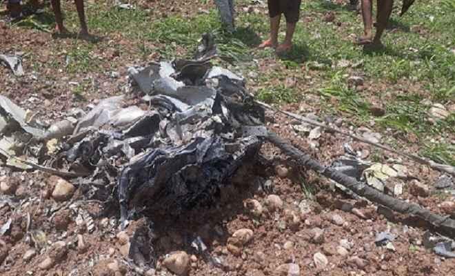 हिमाचल प्रदेश में क्रैश हुआ एयरफोर्स का मिग-21, पायलट की तलाश जारी