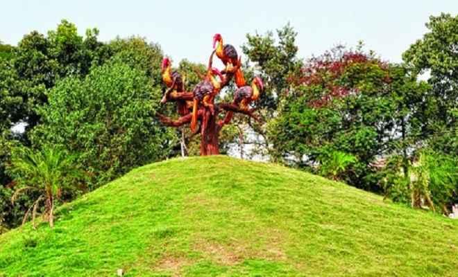 बिरसा मुंडा स्मृति पार्क को मुख्यमंत्री ने दिया विकसित करने का निर्देश