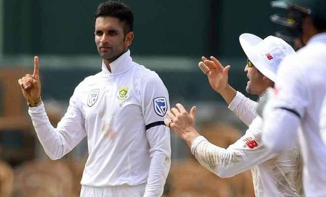 श्रीलंकाई टीम के खिलाफ महाराज का शानदार प्रदर्शन, दक्षिण अफ्रीका ने श्रीलंका को 277 रन पर रोका