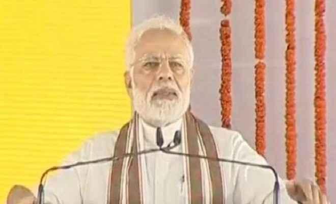 गन्ना किसानों के किए गए वादा निभाने मैं शाहजहांपुर आया हूं : प्रधानमंत्री