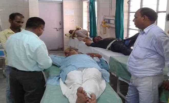 मोदी की रैली में जा रही बस दुर्घटनाग्रस्त, दर्जनों घायल