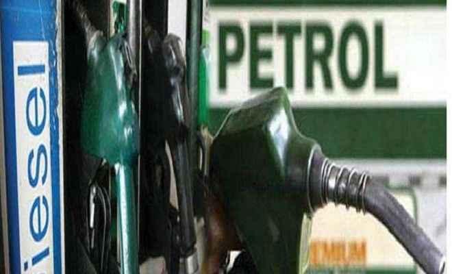 आज पैट्रोल 7 पैसे और डीजल के 9 पैसे घटे दाम