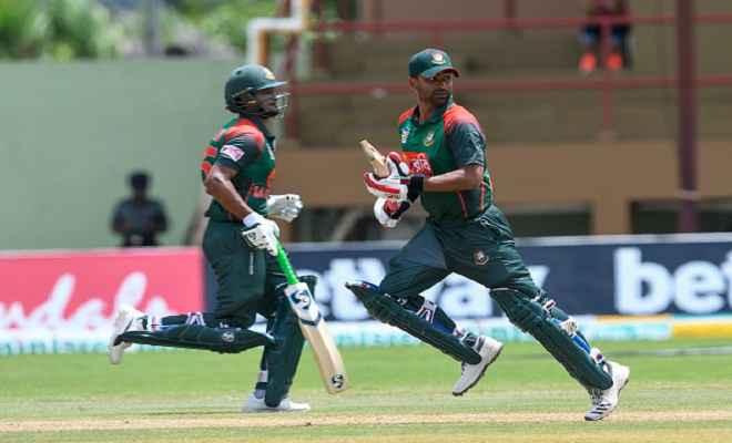 इकबाल और शाकिब की शानदार बल्लेबाजी की बदौलत बांग्लादेश ने वेस्टइंडीज को 48 रनों से हराया