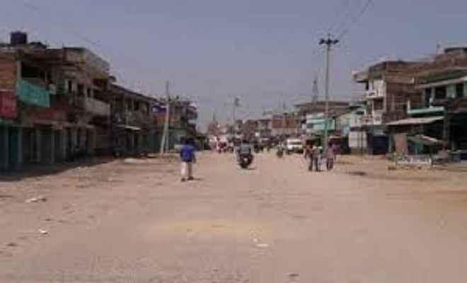 भारत बंद का दरभंगा में व्यापक असर, सड़कों पर पसरा सन्नाटा
