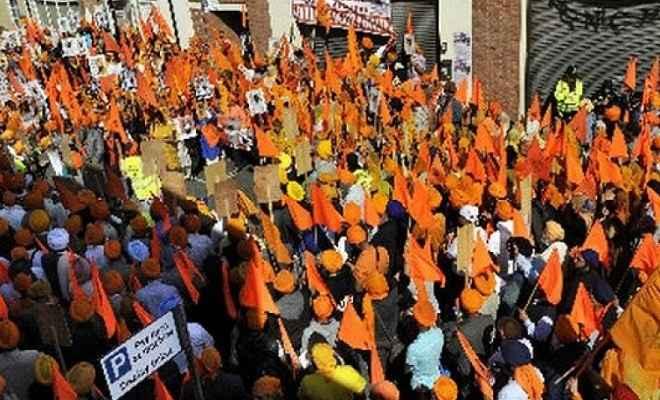 लंदन में खालिस्तान समर्थक रैली का भारत ने किया विरोध