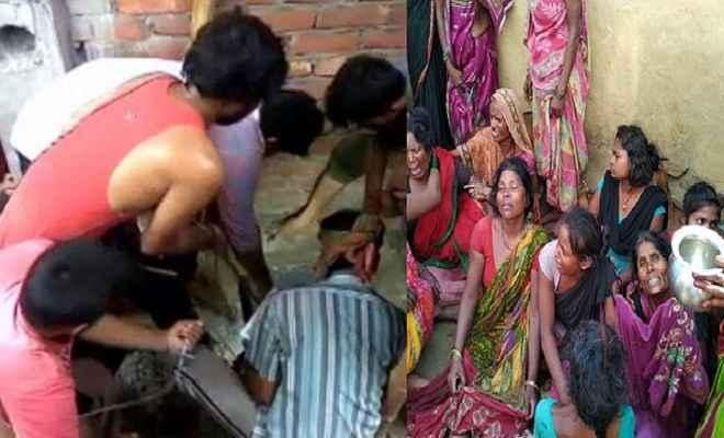 मोतिहारी में दर्दनाक हादसा, सेप्टिक टैंक में दम घुटने से एक ही परिवार के 6 लोगों की मौत