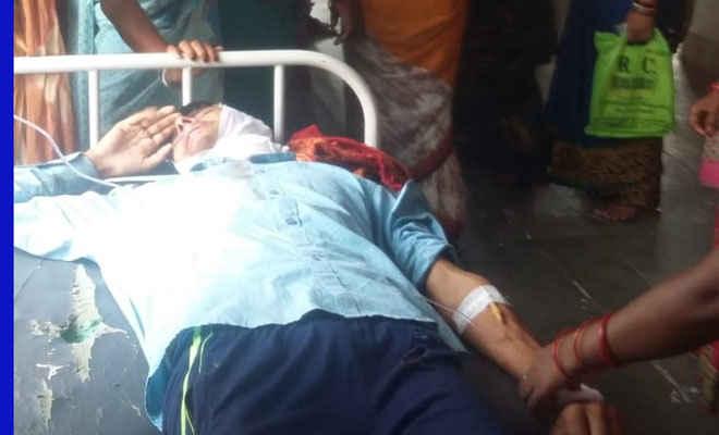 अपनी ससुराल से वापस लौट रहे थे, सुगौली में सड़क दुर्घटना में मौत, बेटा घायल