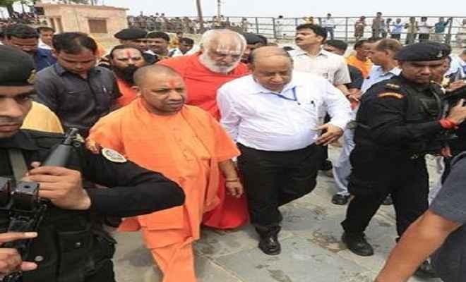 मुख्यमंत्री योगी का अयोध्या दौरा आज, रामचन्द्र दास की पुण्यतिथि पर दिगम्बर अखाड़ा में उन्हें देंगे श्रद्धांजलि