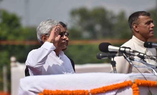 राज्य में कानून का राज कायम रहेगा : नीतीश कुमार