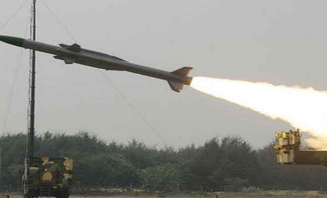 भारत ने किया एंटी टैंक गाइडेड मिसाइल 'हेलिना' का सफल परीक्षण