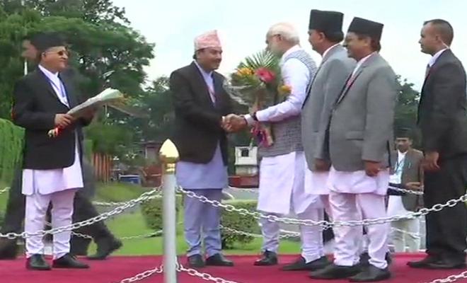 बिम्स्टेक सम्मेलन: नेपाल की राष्ट्रपति बिद्या देवी भंडारी से मिले प्रधानमंत्री मोदी