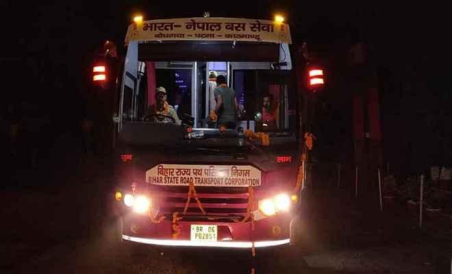 काठमांडो-बोधगया बस सेवा हुई शुरू, ऑनलाइन बुकिंग की भी सुविधा