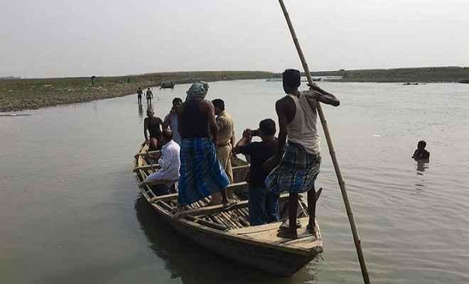 भोजपुर के सोबराही नदी में डूबी तीन बच्चियों का शव बरामद