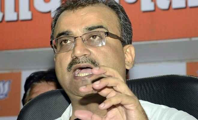 स्वास्थ्य मंत्री मंगल पांडे का तंज, बोले-बिहार में पिछलग्गू है कांग्रेस