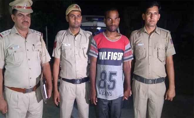 दिल्ली पुलिस ने 10 किलोमीटर दौड़कर हत्या के आरोपी को पकड़ा