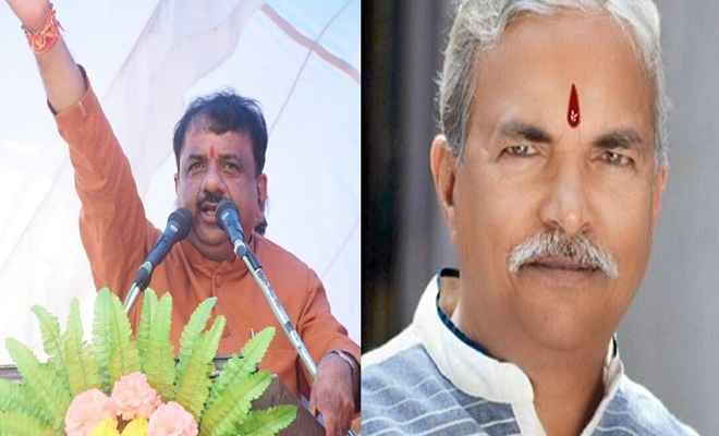 भाजपा की गुटबाजी आई सामने, बीच कार्यक्रम ही लड़ने लगे जिलाध्यक्ष और महापौर