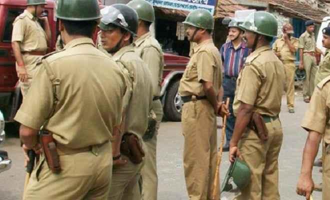 मुहर्रम के मद्देनजर भारी पुलिस बल तैनात, संवेदनशील जगहों पर विशेष निगरानी
