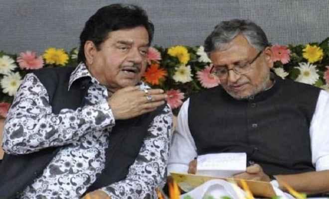 शत्रुघ्न  सिन्हा की बजाय पटना साहिब से सुशील मोदी लड़ेंगे चुनाव!