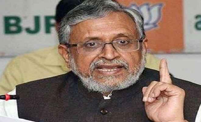 सुशील मोदी का राजद पर तंज, बताए अपराध का राजनीतिकरण किसने किया?