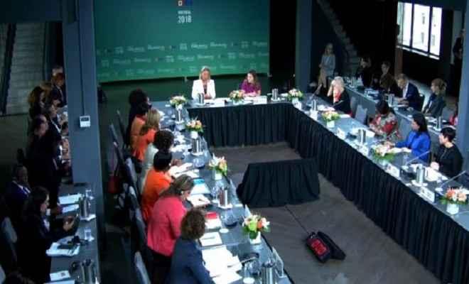 कनाडा: मांट्रियल में महिला विदेश मंत्रियों के पहले शिखर सम्मेलन में 17 देशों की विदेश मंत्रियों ने लिया हिस्सा