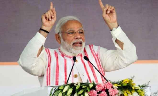 प्रधानमंत्री मोदी ने दुनिया की सबसे बड़ी स्वास्थ्य योजना 'आयुष्मान भारत' की शुरुआत