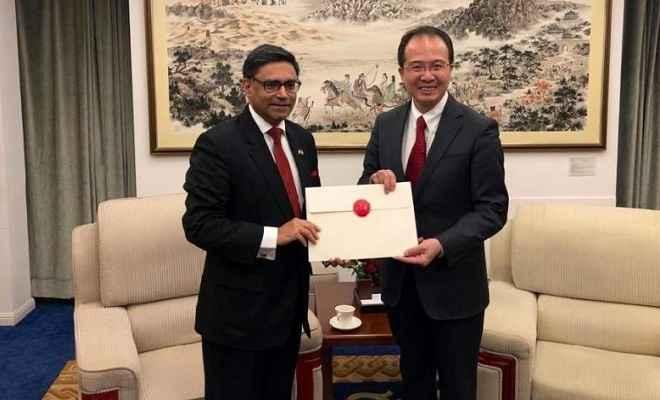 विक्रम मिस्त्री ने संभाला चीन में भारतीय राजदूत का पद