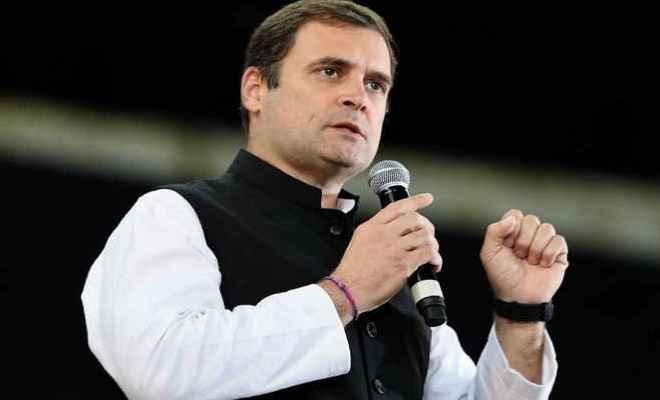 भारत में साढ़े चार साल से 'असहिष्णुता'का माहौल: राहुल गांधी