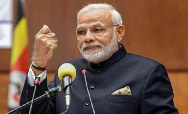 भाजपा अधिवेशन का आखिरी दिन, विपक्ष पर बरसे प्रधानमंत्री मोदी