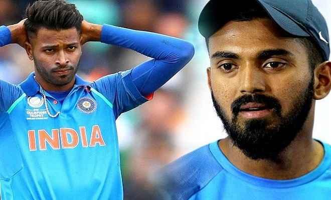 हार्दिक और केएल राहुल खिलाफ जांच शुरू, दोनों ने बीसीसीआई सीईओ से की बात