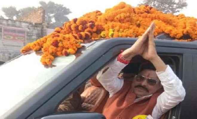 मेगा रोड शो के बहाने विरोधियों को अनंत सिंह दिखा रहे हैं अपनी ताकत
