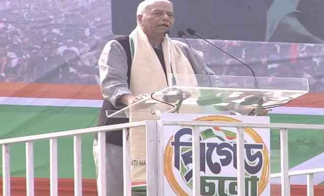 आंकड़ों के साथ 'बाजीगरी'कर रही है केंद्र सरकार: यशवंत सिन्हा