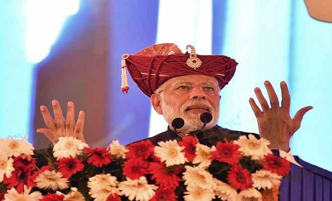 हमने देश का पैसा लूटने से रोका, तो उन्होंने बना लिया महागठबंधन: प्रधानमंत्री मोदी