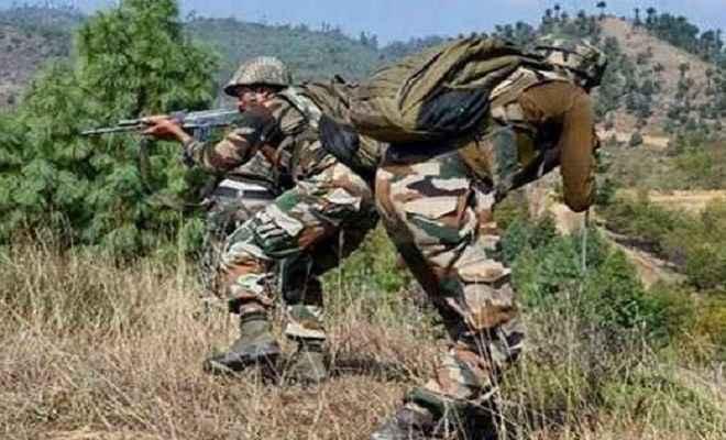 जम्मू/कश्मीर: मुठभेड़ के दौरान सुरक्षाबलों ने दो आतंकी को किया ढ़ेर