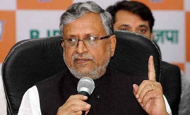 सुशील मोदी ने मुख्यमंत्री नीतीश को दोबारा जदयू अध्यक्ष चुने जाने पर दी बधाई, कहा- एनडीए होगा मजबूत
