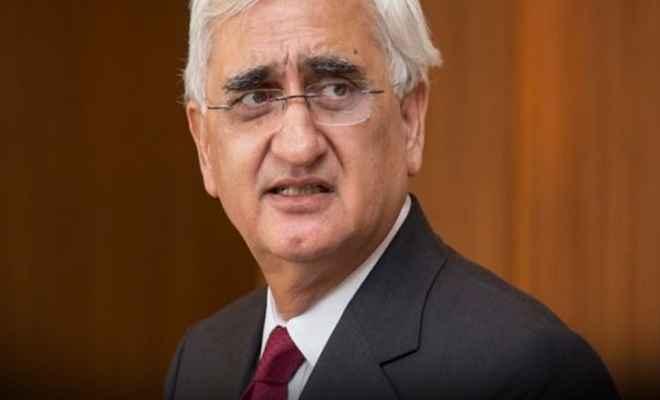 राहुल गांधी का अध्यक्ष पद छोड़ना कांग्रेस के लिए सबसे बड़ी समस्या: सलमान खर्शीद