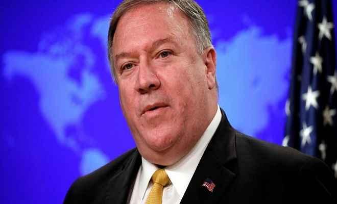 अमेरिका की चीन के आधिकारियों के खिलाफ वीजा प्रतिबंध लगाने की घोषणा