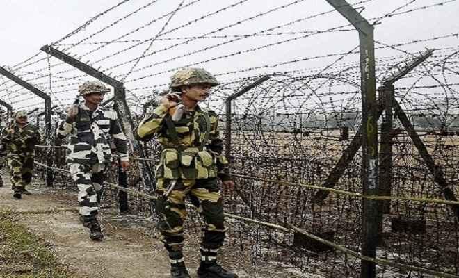 बीएसएफ को मिली बड़ी सफलता, भारत-बांग्लादेश सीमा पर पकड़े 9 घुसपैठिए