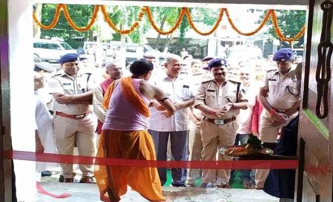चनपटिया थाना क्षेत्र के कुमारबाग में पुलिस आउट पोस्ट का शुभारंभ