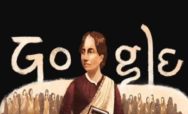 गूगल ने डूडल बनाकर बंगाली कवयित्री कामिनी रॉय की 155वीं जयंती पर किया याद