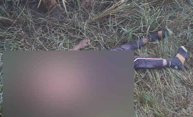 धारदार हथियार से युवक की हत्या, शव को मोतिहारी के चिरैया में फेंका, मृतक की पहचान नहीं