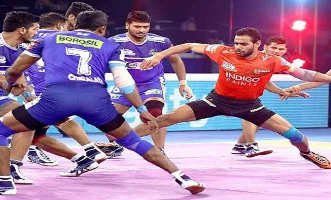 पीकेएल 7: रोमांचक मैच में यूपी को हरा बेंगलुरू सेमीफाइनल में, सामना दिल्ली से