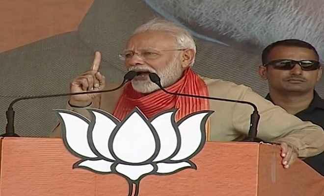 प्रधानमंत्री मोदी ने कहा- 'किसानों के हक का पानी पाकिस्तान नहीं जाने देंगे'