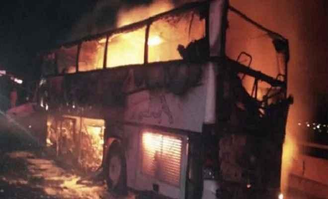 सऊदी अरब में एक बस दुर्घटना में 35 लोगों की मौत, प्रधानमंत्री नरेंद्र मोदी ने जताया शोक