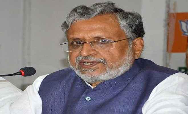 उपमुख्यमंत्री मोदी ने महागठबंधन पर कसा तंज, कहा- मतदान से पहले निकल चुकी है हवा
