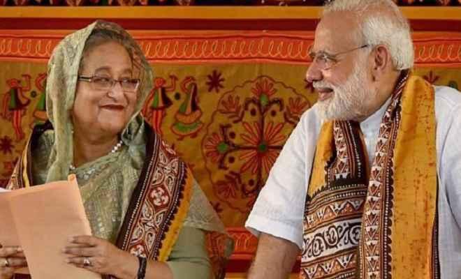 भारत-बांग्लादेश मैच में शामिल होने के लिए प्रधानमंत्री मोदी और हसीना को दिया गया न्योता