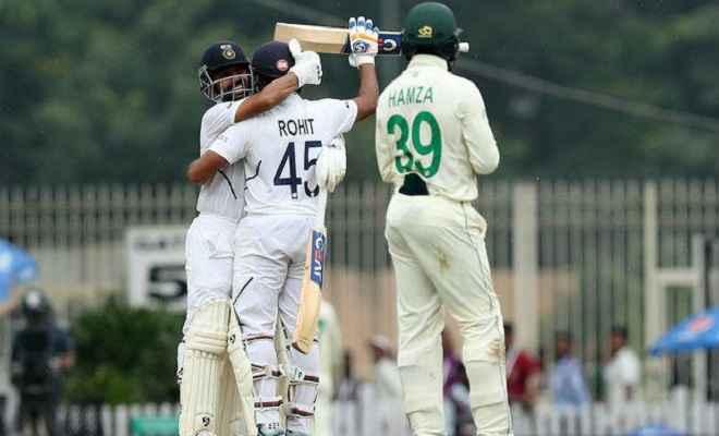 भारत बनाम दक्षिण अफ्रीका तीसरा मैच: खराब रोशनी के कारण मैच रूका, भारत का स्कोर 224-3