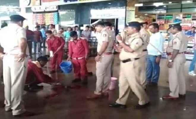 कर्नाटक: हुब्बल्ली रेलवे स्टेशन पर धमाका से एक घायल, जांच में जुटी पुलिस
