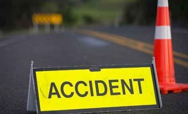 पुलिस जीप में ट्रक ने मारी टक्कर, थानाध्यक्ष समेत 5 पुलिसकर्मी घायल